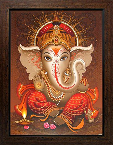 Lord Ganesha / Shree Ganesh / Shri Ganpati Poster with Fr... https://www.amazon.com/dp/B01EFYIGFM/ref=cm_sw_r_pi_dp_MnVyxbCQGB1DK