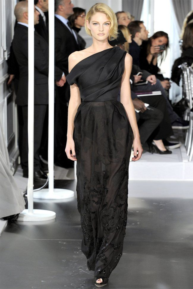 Christian Dior Spring 2012 Couture Paris Haute Couture Runway