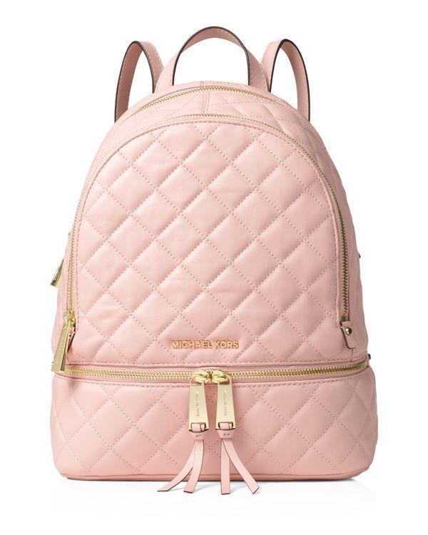 Michael Michael Kors Medium Rhea Quilted Zip Backpack | Sac à main ...