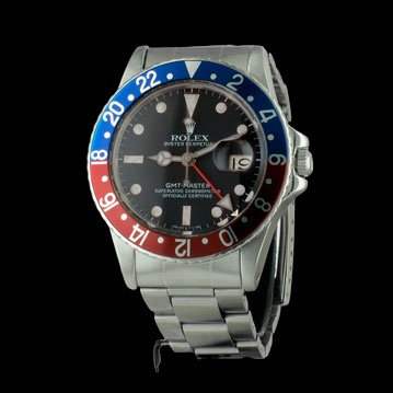 ROLEX - GMT-Master - Vintage http://www.cresus.fr/montre-rolex-occasion.html