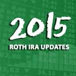 Once again it's the time of year when the IRS announces changes to the Roth IRA contribution and income limits. So what's in store for 2015 for Roth IRA?