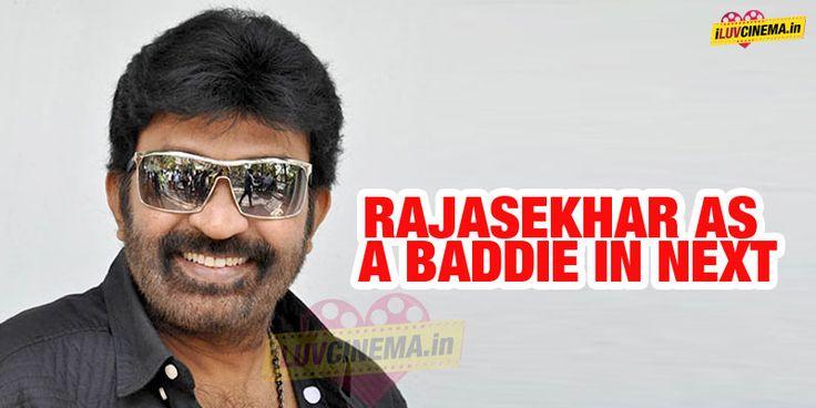 #Rajasekhar as a Baddie in Next