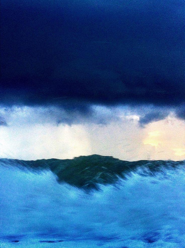 Dark wave, darker clouds.