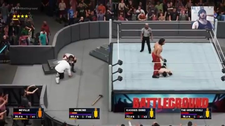 WWE 2K18 Universe Mode Week 16 Battleground PPV (Raw) on my channel CHECK IT OUT  #YoutubeGamer #YoutubeGaming #Gamer #YoutubeChannel #Youtuber #Gaming #GamingChannel #PS4 #Games #Playstation #wwe2k18