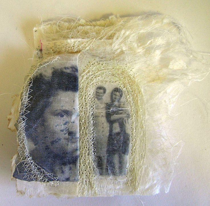 Artist book handmade on Silk paper by Marilyn Stephens blog at http://marilyn-interlaced.blogspot.co.uk/