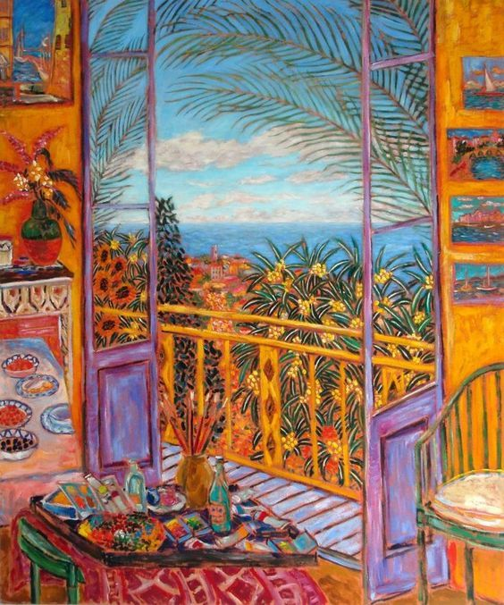 Bonnard's Dining Room (Le Cannet, 1943)