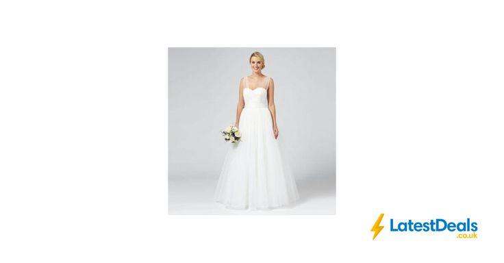 Principles by Ben de Lisi - Ivory sequin 'Princess' wedding dress, £99 at Debenhams