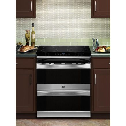 Kenmore Elite Electric Slide In Double Oven Convection
