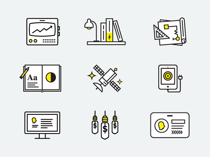 Electrik Icons by Brendan Pittman for Electrik Company