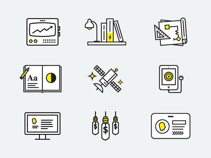 Electrik Icons by Brendan Pittman for Electrik Company