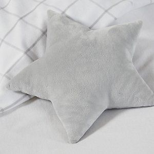 Star Cushion - Light Grey from The White Company