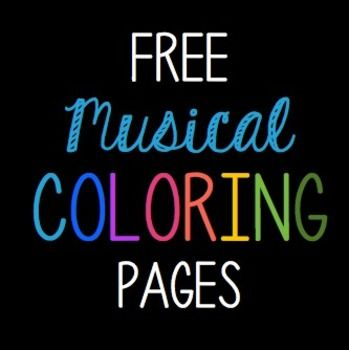 Free Music Coloring Pages