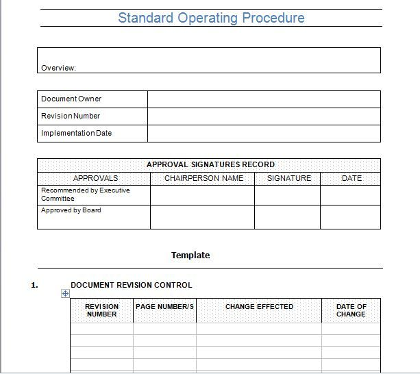 Best 25+ Standard operating procedure template ideas on Pinterest - free office procedures manual template