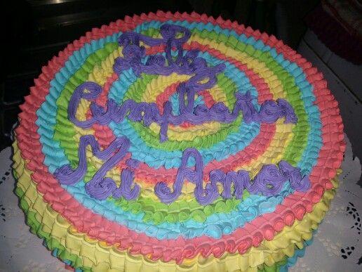 torta 20 personas colores