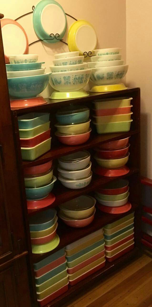 Pyrex collection ... Wow.