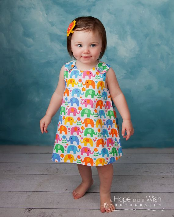 Reversible Baby Dress Pattern  The Perfect A Line by tiedyediva, $6.95