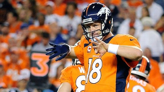 Manning bowl 2013 | NFL Football Teams, Scores, Stats, News, Standings, Rumors - National ..