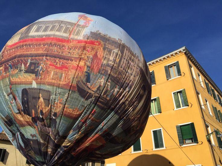 #Venice hotairballon - by Nu'Art - www.nuart.it