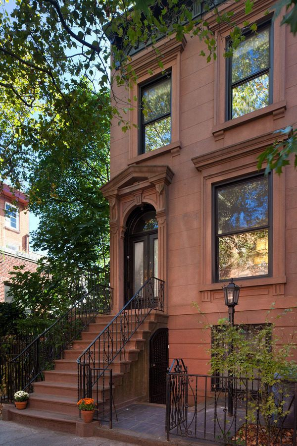 96 best new york city brownstones images on pinterest for New york city brownstone for sale