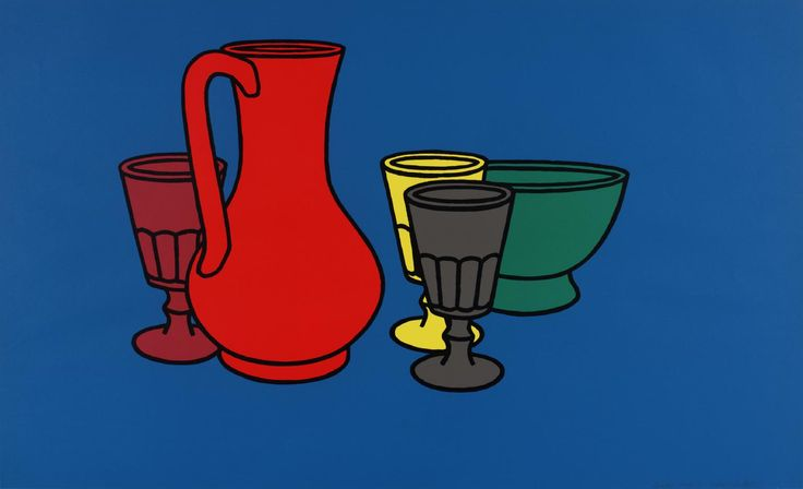 Patrick Caulfield, 'Coloured Still Life' 1967