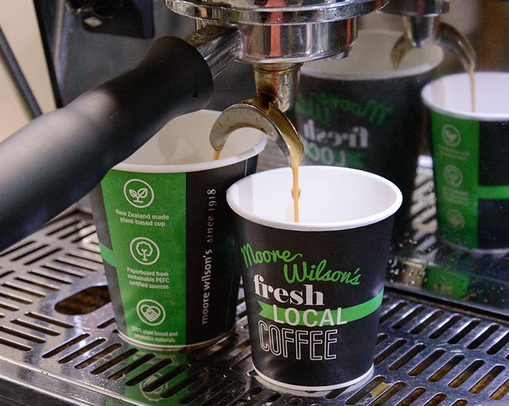 NEW Plant-Based Renewable Takeaway Coffee Cups