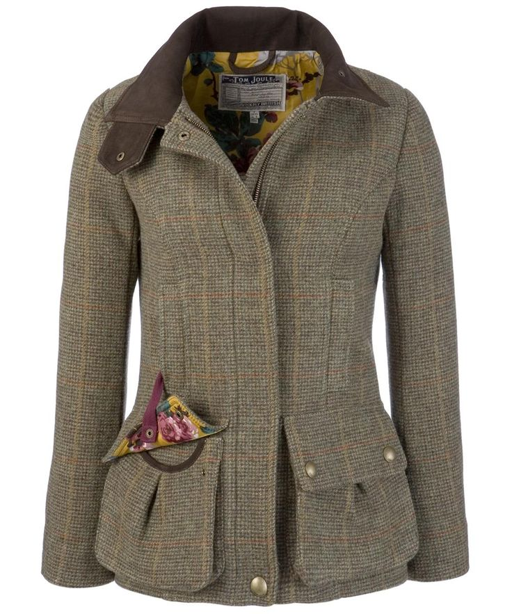 Tweed coat.