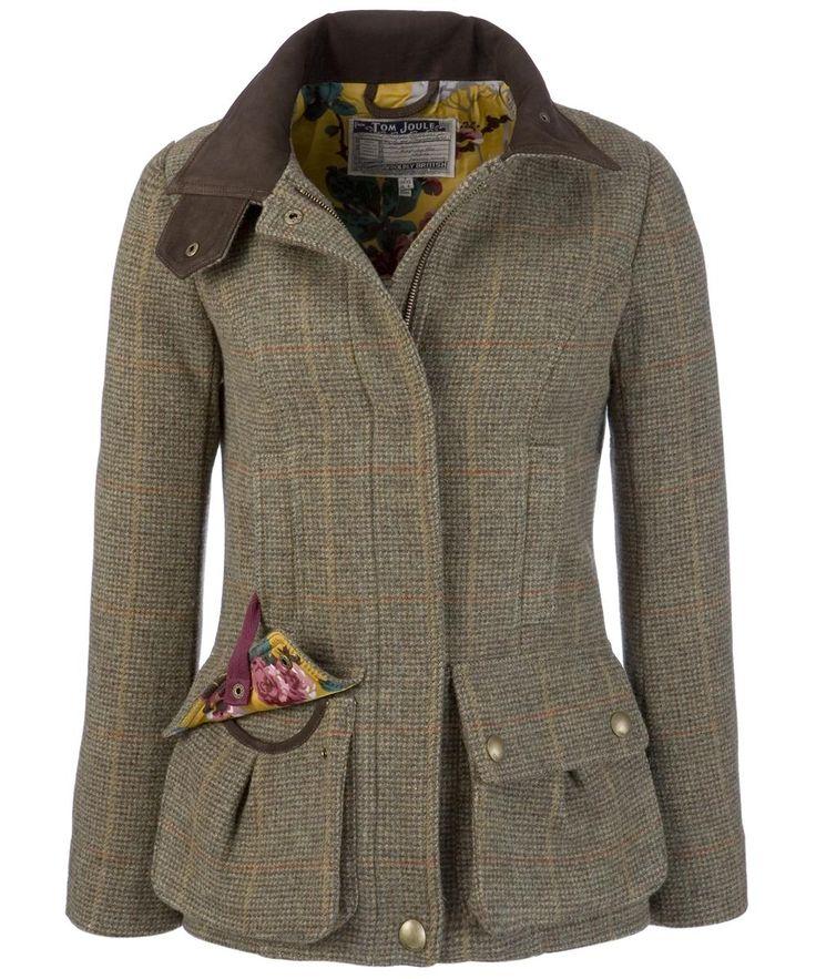 Tweed coat.