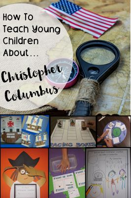 How to teach young children about Christopher Columbus! Here are my lessons, activities, and ides for Kindergarten!