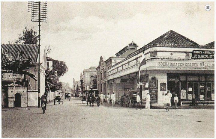 Perempatan Kebon Rojo, Surabaya