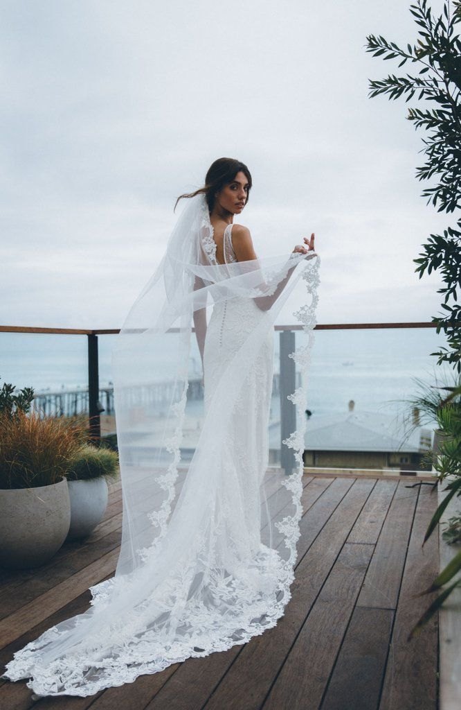 Wedding Roxana Beaded Lace Veilroxana Beaded Lace Wedding Veil Classy Wedding Dress Wedding Veils Lace Wedding Dress With Veil