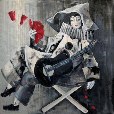Μαριάννα Κατσουλίδη-Αρλεκίνα με κιθάρα,2011