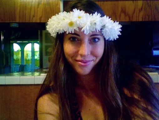 The Swede Records: DIY hippie hair wreath