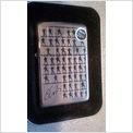 Super Rare 2003 Elvis Repeat Square Zippo USA Lighter New Old Stock Unused