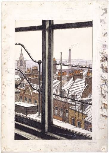 CHARLES GINNER  From a Hampstead Window (1923)