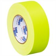 Fluorescent Yellow Gaffers Tape 2 in x 50 yds 11 Mil