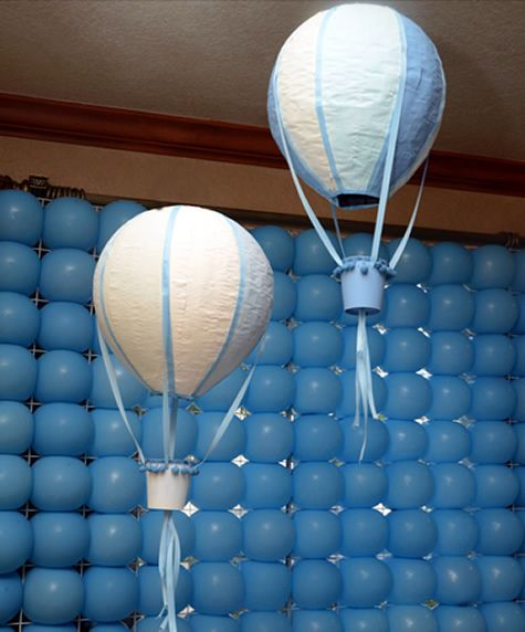 Wall Decoration Ideas With Balloons : Best images about diy hot air balloon on