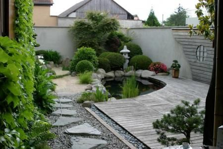 Дизайн двора в японском стиле