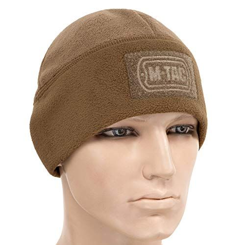 M-Tac Skull Cap Windproof 380 Winter Hat Mens Tactical Beanie panel for  patches 978075a4330f