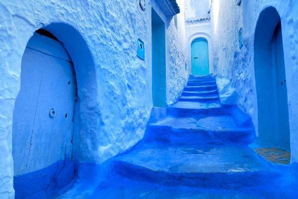 モロッコ;シャウエン