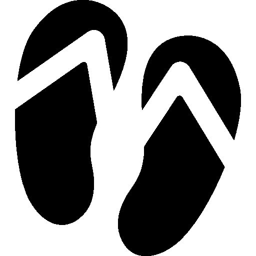 Pair of flip flops I Free Icon