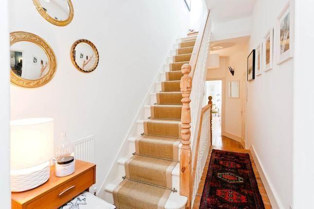 Victorian second floor (loft) stairs.