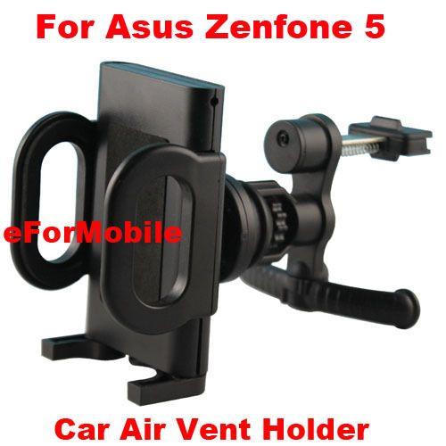 Автомобильный держатель вентиляционное отверстие мобильный телефон автомобильный держатель вращающийся владельца мобильного телефона стенд для Asus Zenfone 5