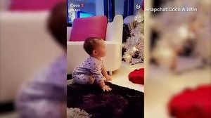 Coco Austin shares cute snap of baby Chanel touching the tree