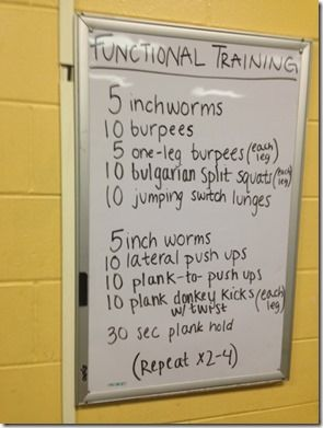 Functional Training Workout                                                                                                                                                                                 More