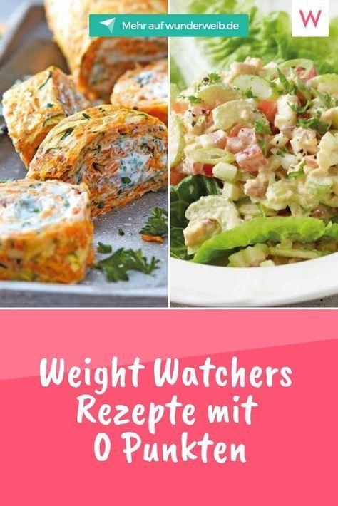 Neue Weight Watchers Rezepte mit 0, 2 und 4 SmartPoints