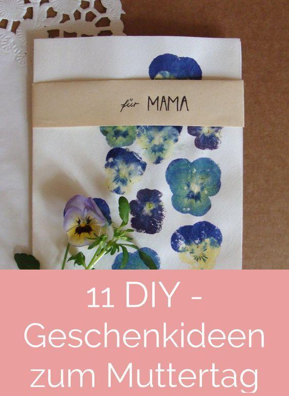 DIYnstag: 11 Kreativ-Ideen für ein selbstgemachtes Geschenk zum #Muttertag | SoLebIch.de #DIY #mothersday #presents #mommy #mom #mothersdaygift #doityourself