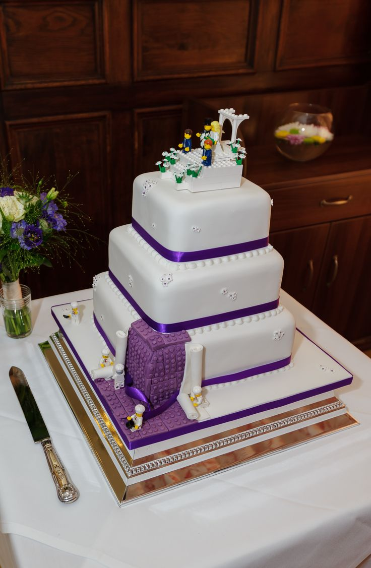 wedding cakes ideas purple 25 best ideas about lego wedding cakes on 24536