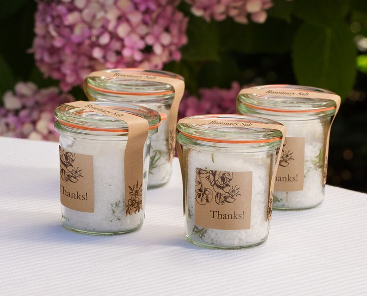 Diy Wedding Gift Ideas For Guests: This Simple-to-make Herbed Sea Salt Makes A Lovely Party