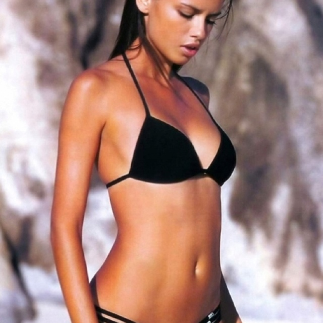 I won't stop until I get my old body back, Adriana Lima style!
