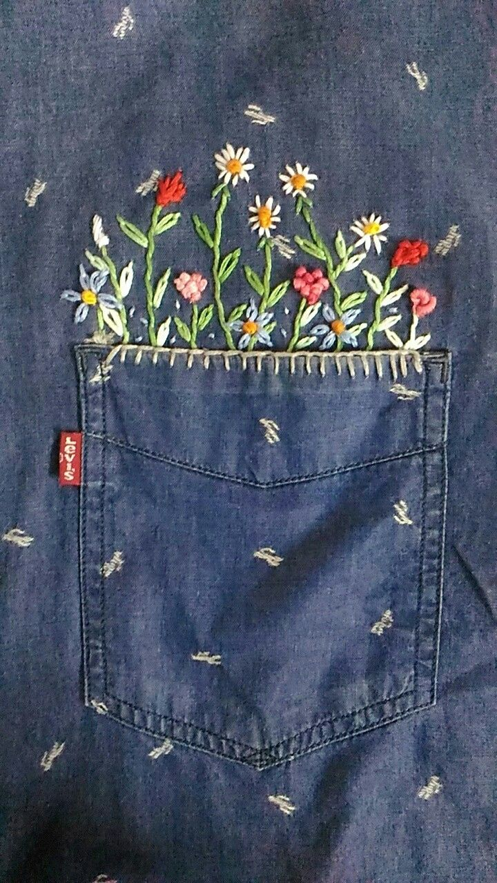 Aesthetic embroidery clothes